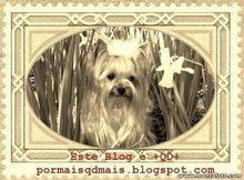 Esse selinho do blog da minha amiga Fátima  http://pormaisqdmais.blogspot.com