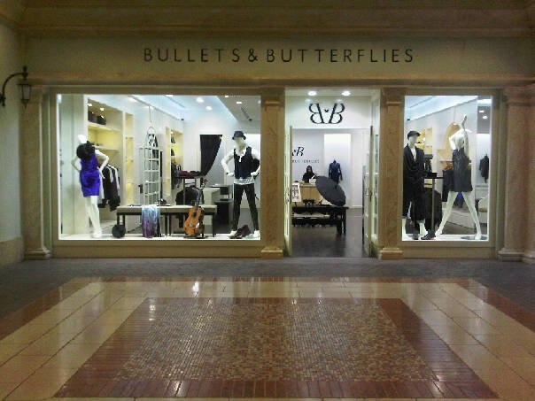 "MY AW2010 IN WINDOW AND ON SALE IN ""BULLETS AND BUTTERFLIES STORE"" DUBAI visit this website http:/"