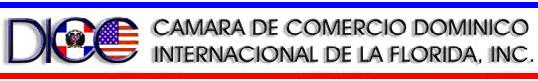 Camara de Comercio Dominico Internacional de la Florida, Inc