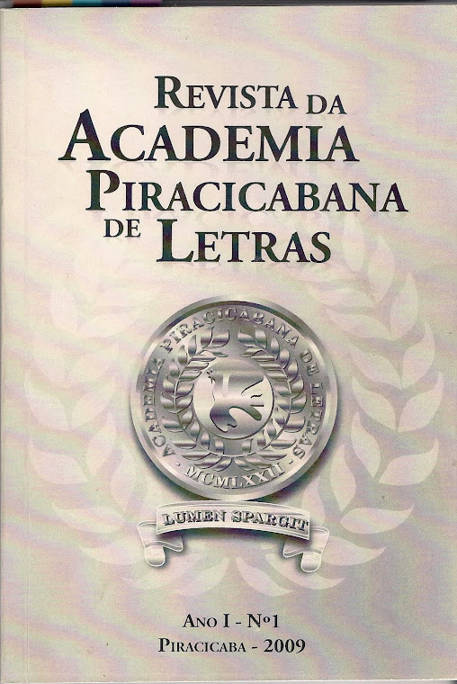 Revista da Academia Piracicabana de Letras - vol 1
