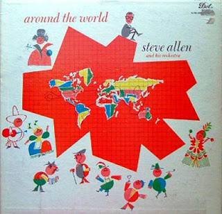 Cover Album of Steve Allen - Around the World (1959)