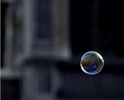 real time floating bubble