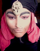 JAFAR ALADDIN MAKEUP LOOK