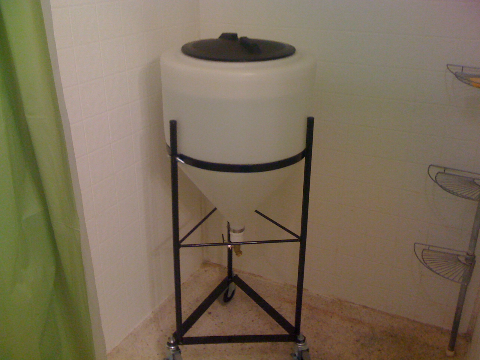 Nilrod Home Brewery Stainless Steel Conical Fermenter Parts And Costing