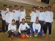 Jaguh bowling!