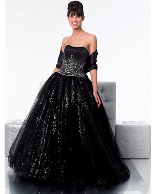 Vestido de 15 años - Color Negro