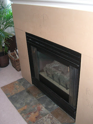INSTALLING TILE AROUND FIREPLACE DESIGN IDEAS, PICTURES