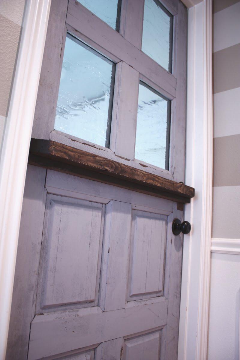 Dutch Barn Door Plans Making A Dutch Door From An Old Door