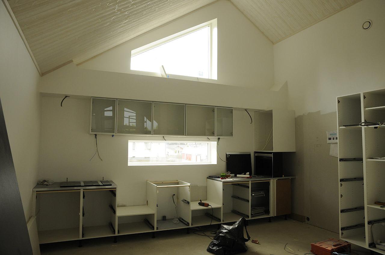 Bilder från sånghusvallen: 18 sept kök och golv