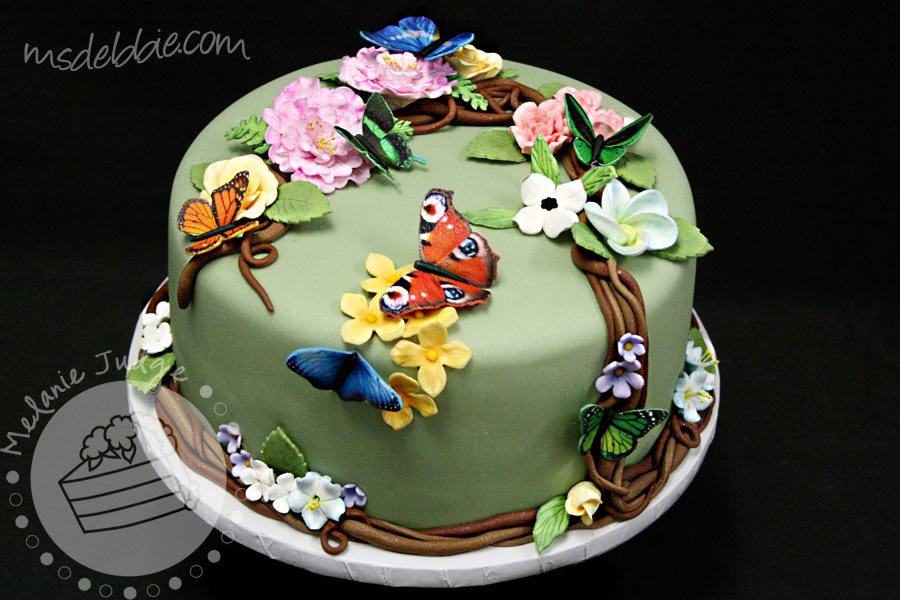 Cake Walk: Butterfly Rainforest Cake