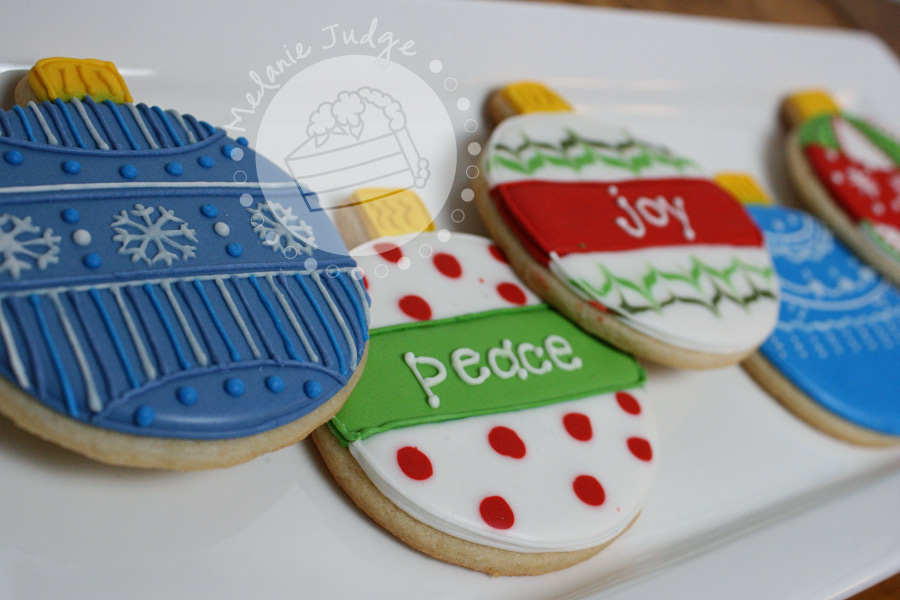 Cake Walk Day 4 Ornament Cookies