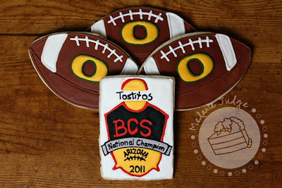 2011 bcs national championship cookies oregon auburn football