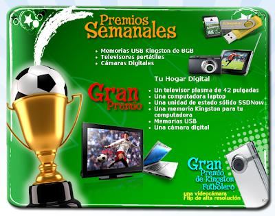 premios kingston Campeones de la Memoria
