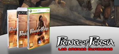 juego estandar prince of persia las arenas olvidadas