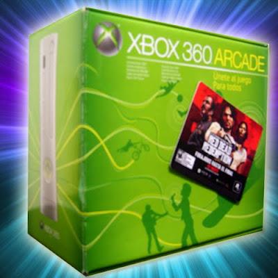 consola xbox 360 Arcade