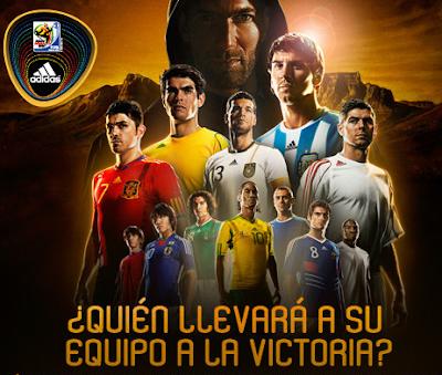 promocion adidas 2010