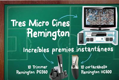 Remington promocion premios argentina 2010 Un abrazo de gol