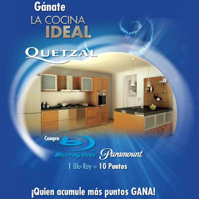 promocion paramount cocina integral ideal quetzal mexico 2010
