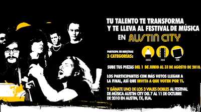 VT BIC promocion mexico austin city limits festival 2010