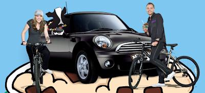 promocion premio mini cooper Bicicletas de montaña Ben & Jerry's Mexico 2010