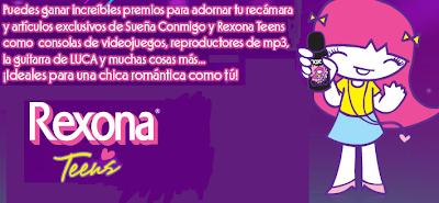 promocion Sueña con Rexona Teens y gana la recamara de Sophie Mundonick