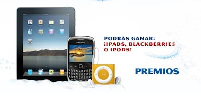 premios ipad ipod blackberry promocion colgate encapsulados Mexico 2010-2011