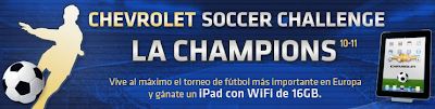 premio Ipad 16 GB, Wi-Fi promocion chevrolet Mexico 2011