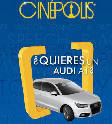 Premio Audi A1 Promocion cinepolis TNT Mexico 2011