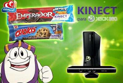 premio xbox 360 kinect promocion mueve-t muevete gamesa 2011