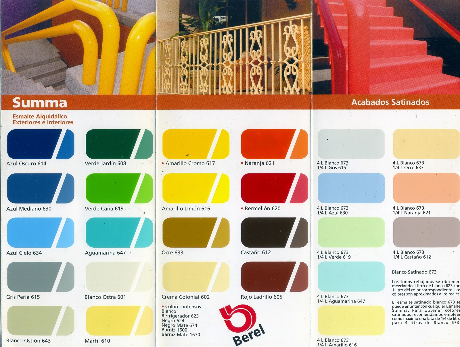 Muestrario de colores de pinturas imagui for Muestrario de pinturas