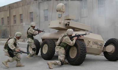 Exército americano cancela projetos de robôs de combate