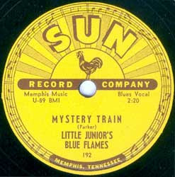 "Little Junior Parker & The Blue Flames  - ""Mystery Train"" Sun Records # 223A"