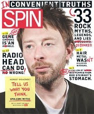 Thom Yorke makes the cover of Spin (again) December '09