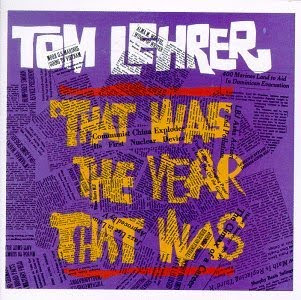 Tom Lehrer That Was the Year That Was album cover
