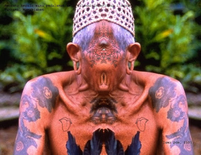 Dayak Tattoos have sacred symbols of the social can be a marker of the