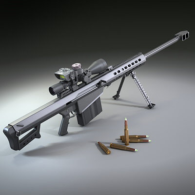Rifle calibre 50