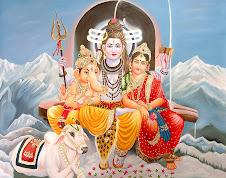 Shiva - Parvati - Ganesha