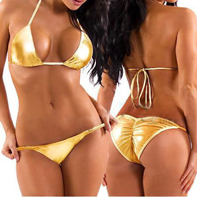 The Yellow lingerie and Bikini Swimwear