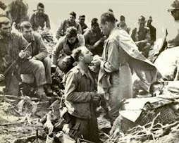 American GIs at Iwo Jima