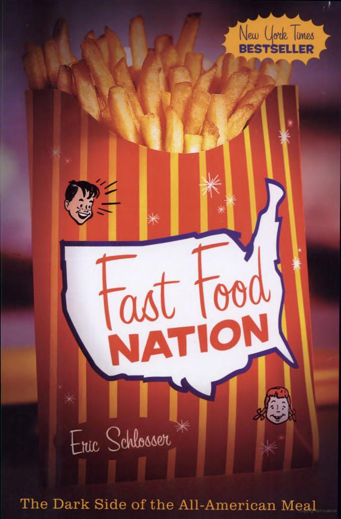fast food nation book essays