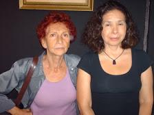 Lola Ferrer y Maria Teresa Haiek