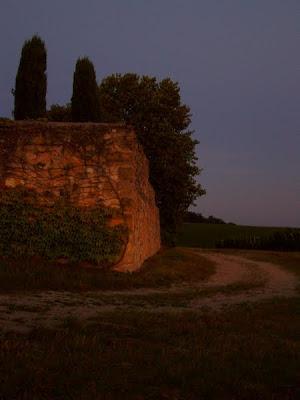 pidic encadrees photographie photoblog amateur bordeaux gironde detour chemin ballade nuit tombante