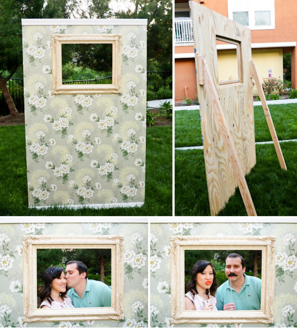 party baby shower and wedding projects etsy diy photo booth