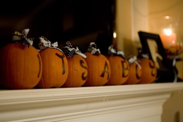 diy little pumpkin baby shower projects