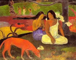 """AREAREA"". PAUL GAUGIN"