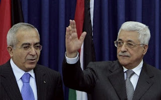 Salam Fayyad and Abu Mazen