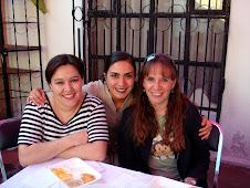 2008 Febrero 16 - Claudia, Debbie y yo