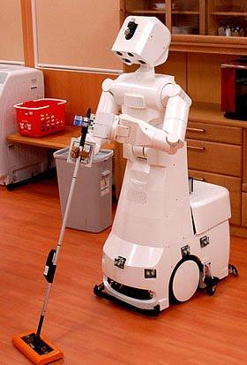 Robots dom sticos el primer robot dom stico de china - Robot que limpia el piso ...
