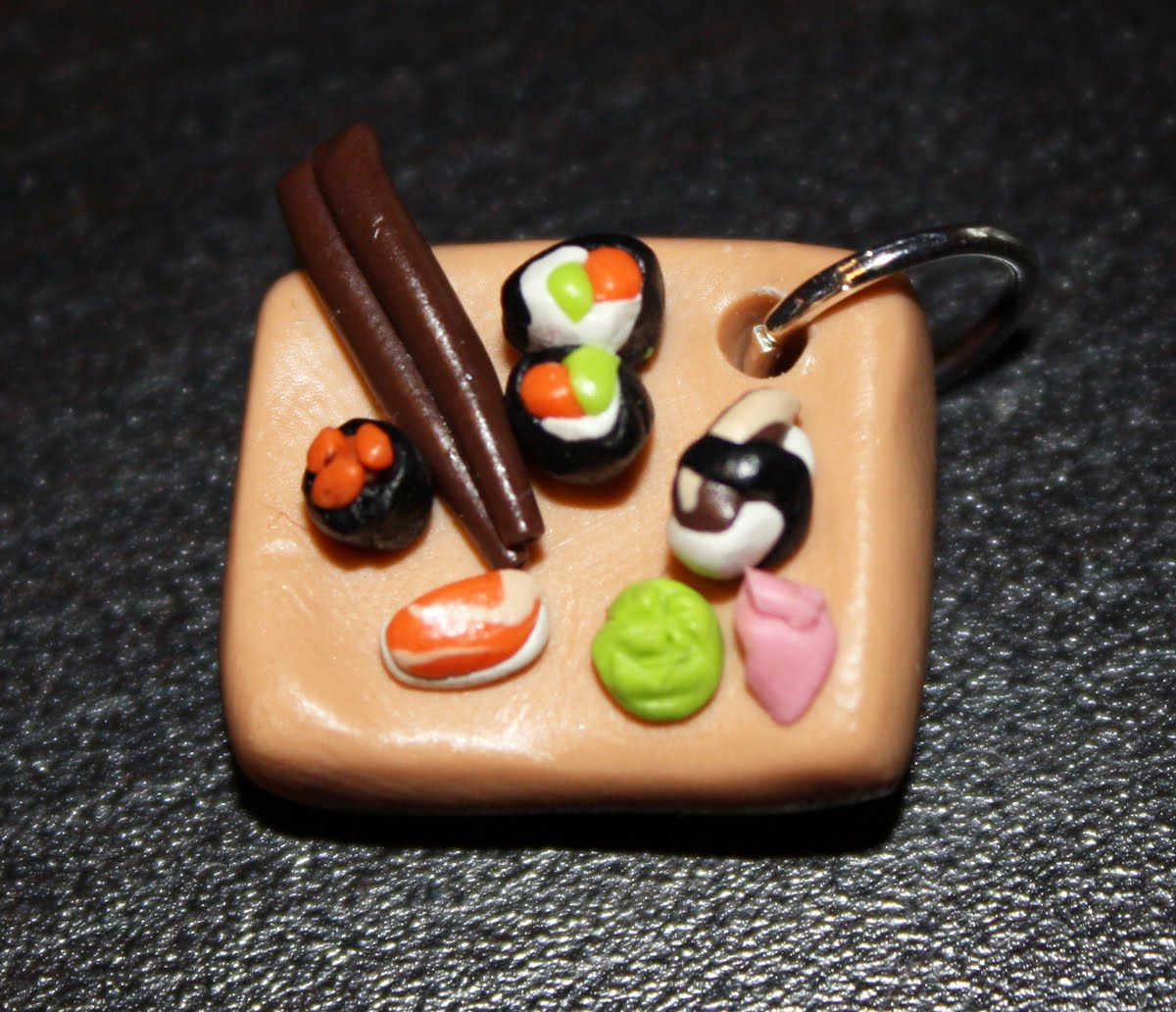 crafty with a side of crazy miniatures made of polymer clay fun