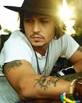 Johnny Depp's Many Tattoos 6
